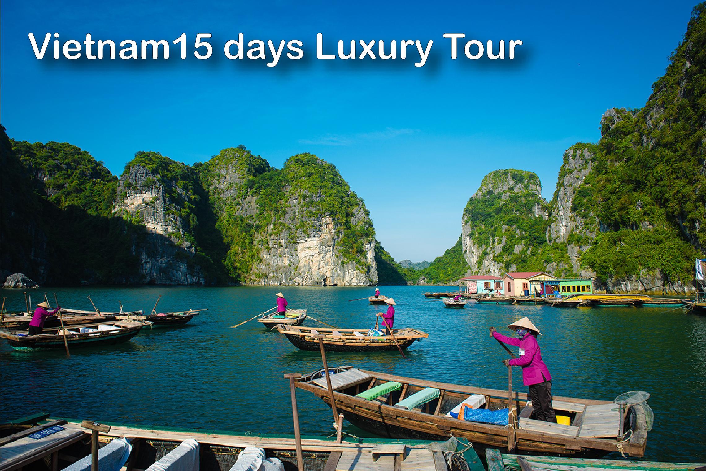 Vietnam 15 Days Tour
