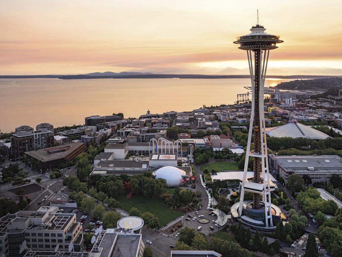2020  西雅圖+奧林匹克公園+雷尼爾火山公園+德國村 5 日遊
